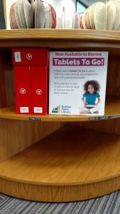 Tablets to check out in Children's Room