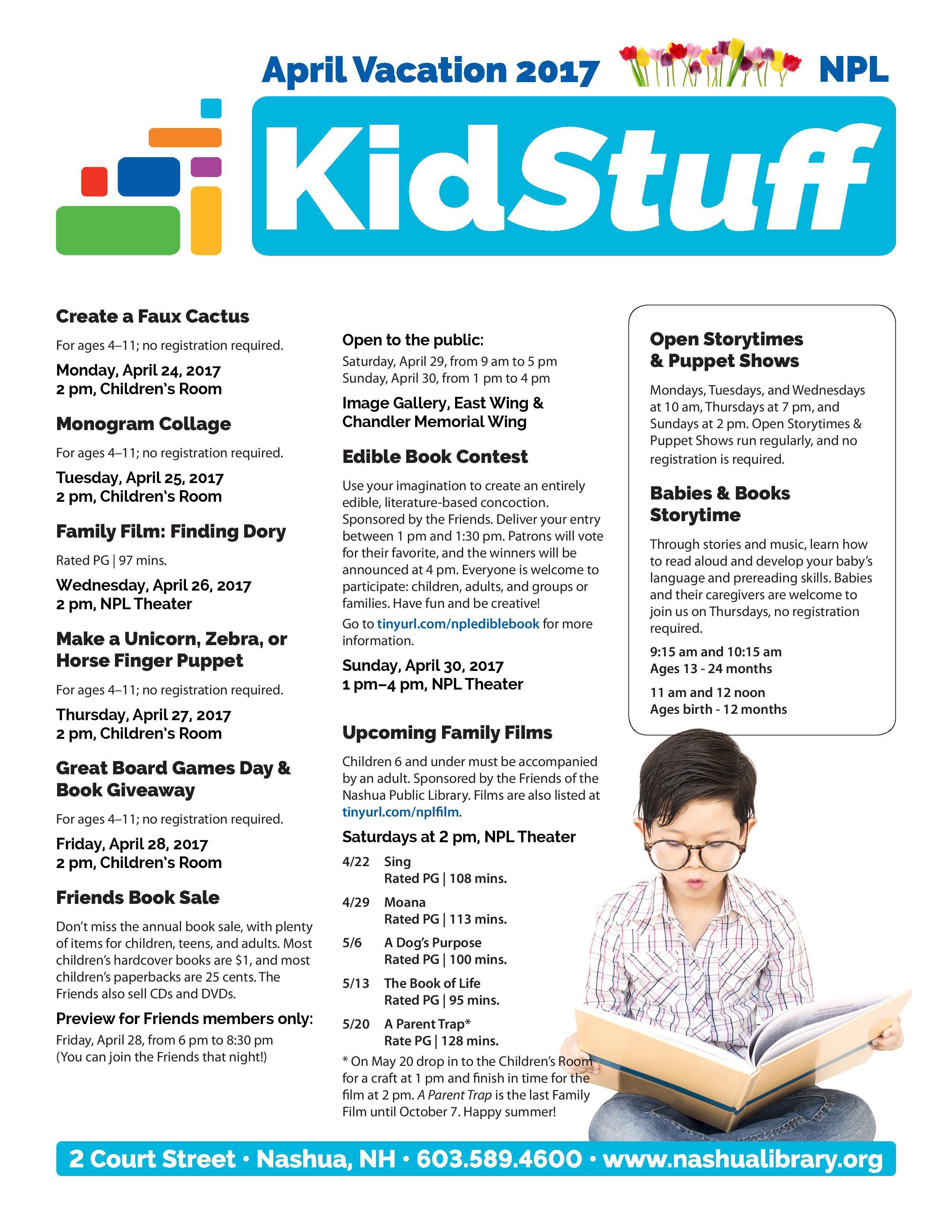 kids fall reading 2016