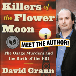 Meet David Grann, author of Killers of the Flower Moon