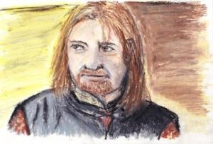 """Boromir: The Lord Of The Rings"" by Naomi Conti"""