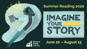 Summer reaading 2020: Imagine your story, June 20 to August 15