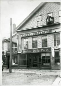 Nashua Daily Press and printing office