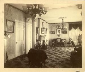 Interior view with cello