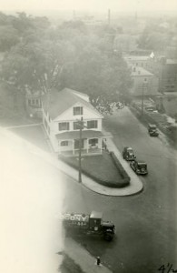 Albert Davis' undertaking home