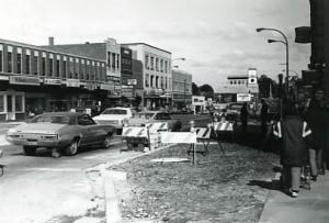 Main Street brick sidewalks