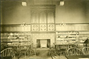 Hunt Memorial Library: Interior