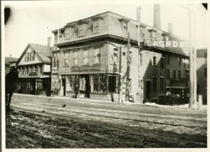 Corner of Main and Pearson's Avenue
