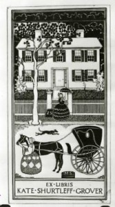 Foster Square book plate