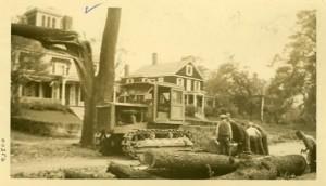 Hurricane(?) damage