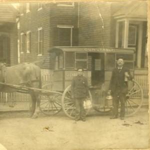 Milk man Chartier on Chestnut St