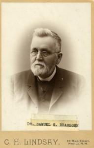 Dr. Samuel G. Dearborn