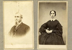 Solomon Spalding and wife Sarah Edson Spalding