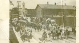 Spanish American War-era parade