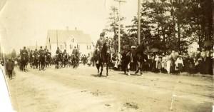 Spanish American War parade