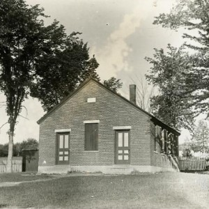 School and Cemetery, Lowell Road