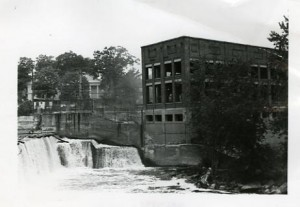 Jackson Dam on Nashua River