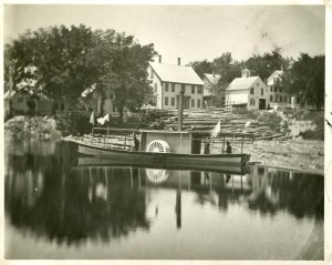 "Steamer ""Ida Lewis"" on Nashua River"