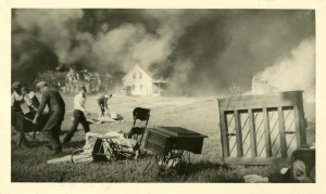 Crown Hill Fire 1930 Marshall Street