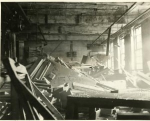 Work room in Gregg Plant