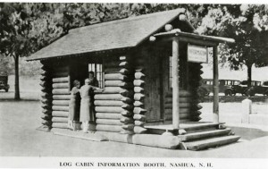 Log Cabin Information Booth