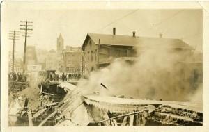 Main Street Bridge fire