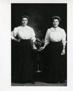 Julia Rasmovich and Mrs. Navickas