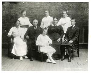 Rosaire Dion-Levesque & Family