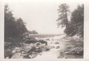 Dam at Mines Falls