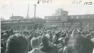 Eisenhower visit
